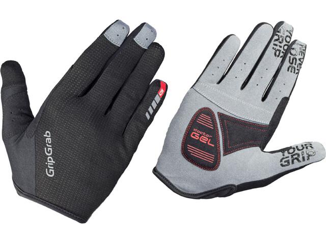 GripGrab Shark Long Cycling Gloves Black